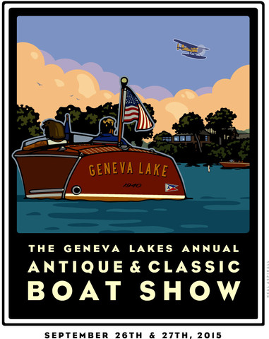 Lake Geneva Antique Boat Show
