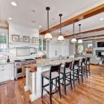 Lakeside Kitchen With Woodmode