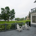 Large Lakeside Deck