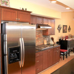 Stainless and Granite Kitchen
